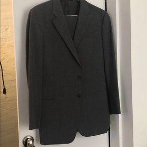 Armani Collezioni Men's Suit (gray) 44L